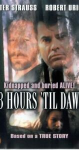 83 Hours until Dawn DVD Peter Strauss Robert Urich Kidnapped Buried Alive Movie