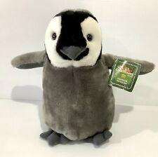 Wild Republic Baby Emperor Penguin Plush Soft Toy Cuddlekins Stuffed Animal 25cm