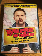 Where In The World Is Osama Bin Laden (DVD, 2008) Morgan Spurlock
