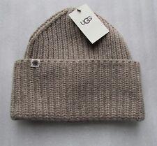 UGG Hat Cardi Knit Oversize Cuff Beanie O/S NEW