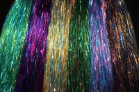 6 packs mixed Colors 0.3mm Flashabou Tinsel Crystal Flash Fly Tying Materials