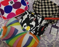 Cosmetic Bags Le Sportsac Estee Lauder Lisa Perry Lot Of 4 Mod Prints Small Size