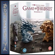 GAME OF THRONES - COMPLETE SEASONS 1 2 3 4 5 6 & 7  *BRAND NEW DVD BOXSET*