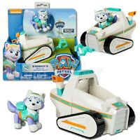 New Paw Patrol Everests Rescue Snowmobile Pup &Vehicle Figure Spin Master