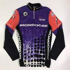Mongoose Factory Team Castelli Long Sleeve Cycling Jersey Made Italy Men's Large