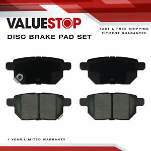Rear Ceramic Brake Pads for Pontiac Vibe; Scion tC; Toyota Corolla; Prius Yaris