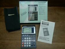 "SANYO CX 480 VINTAGE ""PROCESS"" CALCULATOR MIB WORKS PERFECTLY!"