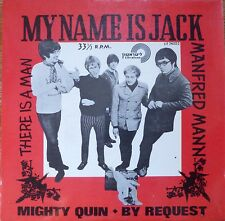 """MANFRED MAN-my name is jack -1968 7"""" EP p/s- rare israeli different press MINT"""