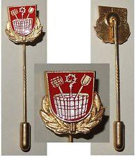 Anstecknadel Nadel Gemeinde Wörth an der Isar aus Gold 333