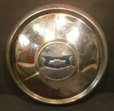 One Vintage Chevrolet Chevy Impala Bel-Air Nomad Hubcap Wheel Cover Bowtie