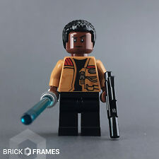 Lego Star Wars - Finn minifigure with lightsaber - The Force Awakens 75139