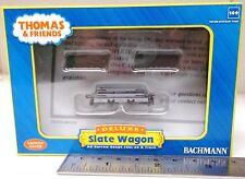 Bachmann US (Thomas) 77302 - Narrow Gauge Slate Wagon w/Load - New. (009)