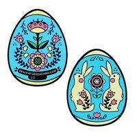 Egg Geocoin- blau Geocoin Geocaching Ostern Osterei