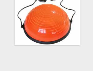 "6 Color 23"" Yoga Half Ball Exercise Trainer Fitness Balance Strength Gym w/Pump"