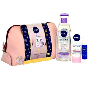 NEW BRAND LADIES LUXURY NIVEA DAILY CARE MAKE UP COSMETICS BAG GIFT SET PACK