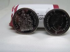 1-CANADA 2017 New 50 cents Coat of Arms of CANADA ,BU direct from mint roll..