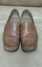 ECCO BROWN SOFT SLIP ON LOAFERS MEN'S 9M MSRP $150