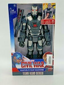 "Marvel Avengers Titan Hero Series Marvels War Machine 12"" Action Figure Hasbro"