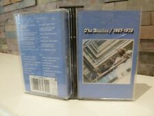 classic THE BEATLES 1967 - 1970  CASSETTE TAPES BLUE