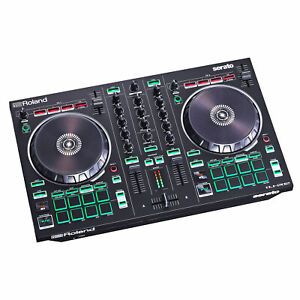 Roland DJ-202 2-Kanal 4-Deck USB-DJ-Controller