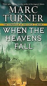 When The Heavens Fall Mass Markt Paperbound Marc Turner