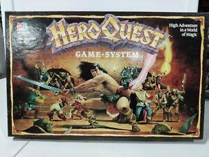 Vintage HeroQuest Board Game Milton Bradley Hero Quest