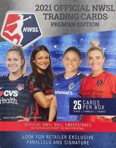 2021 Parkside NWSL Premier Edition Soccer Cards Sealed