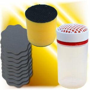 Befeuchter Anfeuchter + Schleifblüten P2000 / P3000 + Schleifblütenhalter Set