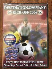 Destination Alemania ~ 2006 Copa Del Mundo Fútbol GB DVD Nuevo en caja