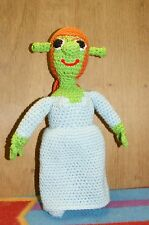 NEW HAND MADE CROCHET MS. ORGER  STUFF TOY