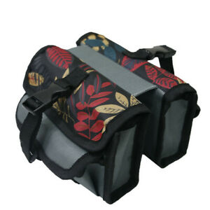 Bicycle Bike Cycle Top Front Tube Pannier Bag Luggage Pouch Frame Storage Pack