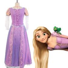 Tangled Princess Rapunzel Halloween Cosplay Costume Party Dress Suit Uniform