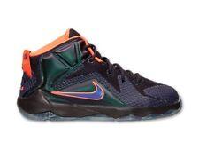 Nike Lebron XII GS Reino Unido 3.5 EUR 36 Cv púrpura Hyper Uva Nuevo 685181 500