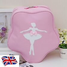UK SELLER Pretty New Lovely Girls Kids Pink Star BALLET DANCING bag Backpack