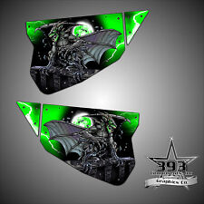 Polaris RZR 1000 XP TMW Sidewinder Venom Door Wrap Graphics Guardian Green