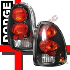 96-00 Dodge Caravan Chrysler Town & Country Plymouth Voyager Black Tail Lights