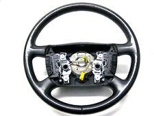 2003 VW PASSAT GLX B5.5 STEERING WHEEL MULTI FUNCTION BLACK LEATHER 02 04 05