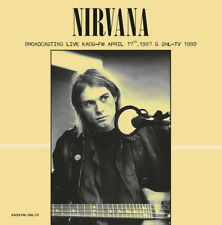 Nirvana - Broadcasting Live KAOS-FM NEW SEALED import 180g LP