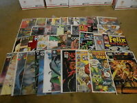 #FR-110 -  LOT of 45 MODERN AGE INDEPENDENT comic books - NICE SHAPE
