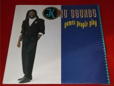 King Sounds:   Games People Play  UK   EX+  1987    7""