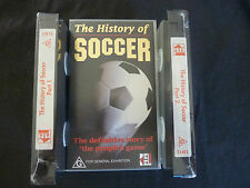 THE HISTORY OF SOCCER RARE NEW SEALED VHS VIDEO! FOOTBALL SOCEROOS LIVERPOOL