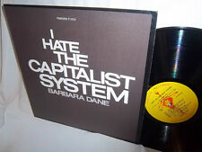 BARBARA DANE-I HATE THE CAPITALIST SYSTEM WITH BOOKLET RARE VG+/NM LP