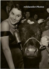 Gisèle Gay, French Cowgirl, Orig. Photo 1957