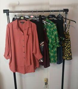 Womens Ladies Clothes Bundle Size 12 Shorts Blouse Top Shirt Tshirts ZZ5
