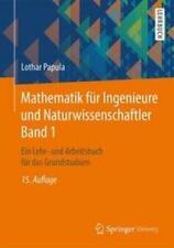 Mathematik für Ingenieure und Naturwissenschaftler Band 1 | Lothar Papula | Buch