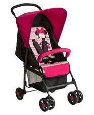 hauck Sport Single Seat Pushchair Stroller- Minnie Geo Pink