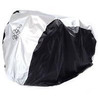 2 Bike Cycle Bicycle Waterproof Cover Weather Rain Dust Resistant UV Protection