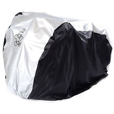 2 Bike Cycle Bicycle Waterproof Cover Weather Rain Dust Resistant UV Protection