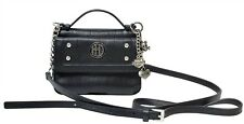 Harley-Davidson® Women's Crystal Studded Black Leather Purse Bag WW0062L