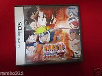 Naruto: Saikyo Ninja Daikesshu 3 anime manga videogame for Nintendo DS japanese